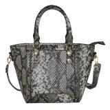 Aw18豪華なヘビPUの革方法女性ハンドバッグ(ZXK1829)