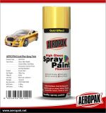 Pintura de pulverizador do ouro do aerossol da boa qualidade de Aeropak