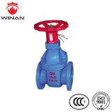 Válvula de Gaveta de Aço Inoxidável manual com a norma UL/certificado por FM