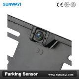 Venta caliente de la matrícula de la UE Vista posterior de la cámara con sensor de estacionamiento