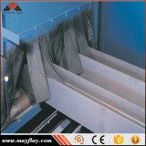 강철 단면도 H-Beam의 청소 표면을%s 기계를 닦기