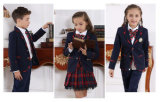 Fardas da escola preliminares mola dos estudantes novos feitos sob encomenda da escola secundária e uniformes da classe do outono