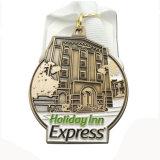 Médaille molle personnalisée de concurrence de chant d'émail en métal