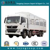 Sinotruk T5g 8X4の真新しい棒の貨物トラック