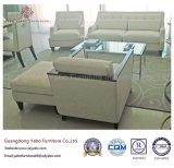Коммерчески мебель гостиницы с журнальным столом лоббиа стеклянным (7898-1)