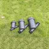 """3 fortes de """" tipo filtro Y de tela com irrigação de gotejamento da exploração agrícola"""