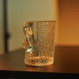 Gerader runde Form-eindeutiger Glaskerze-Halter