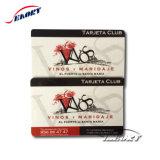 Четыре цвета из ПВХ для печати карты VIP Card Business Card с помощью штрихового кода