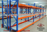 Justierbare Speicherung, die Regal-industrielle Stahlzahnstange für die Einlagerung des Geräts stapelt
