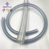 Mangueira desobstruída da tubulação do fio de aço do PVC