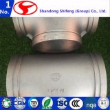 Tl-T-1700165.1 gebördelte galvanisierte Stück-formbares Eisen-Rohrfittings