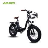 [20ينش] إطار العجلة سمين يطوي درّاجة كهربائيّة [48ف] [500و] [إبيك] مريحة