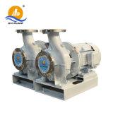 Horizontal centrífugo de alta presión el impulso de canalización de agua bomba de acero inoxidable