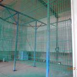 Panneau de frontière de sécurité de Nylofor utilisé par jardin 3D de garantie enduit par poudre