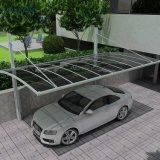 Châssis en aluminium au design moderne abri pare-soleil en polycarbonate