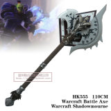 Hacha Warcraft Shadowmourne el 110cm HK555 de la batalla de Warcraft