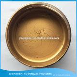 8-12 Um de metal de color oro pálido polvo de cobre para serigrafía