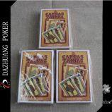 Tarjetas que juegan plásticas impresas aduana del póker el 100%, tarjetas de encargo del póker, tarjetas de encargo del póker de las hojas de operación (planning)