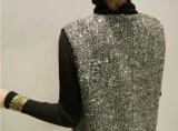 Первоначального производства из полиэфирного волокна шерсти моды Майка платье на осень