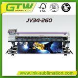 Impressora do grande formato de Mimaki Jv34-260 com desempenho super da impressão