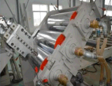 Twin Screw Low Friction Plastic Sheet Extruder Machine