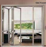 Bi-Falz-Tür mit eindeutigem Falten-und Stapel-System