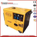 tipo silenzioso gruppo elettrogeno di 4.5kw 5.5kw 6.8kw diesel raffreddato aria