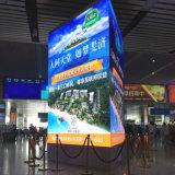 Afficheur LED P6 de publicité fixé au mur d'intérieur pour le centre commercial