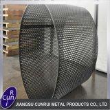 Metallineinander greifen-Blatt des Edelstahl-201 304 perforiertes dekoratives