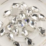 De Parels van de Kristallen van de bijl richten AchterBergkristallen de Lange Klauw van de Toebehoren van de Daling voor de Stenen van de Toebehoren van de Kleding met Gat 2 naait