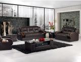 Sofa moderne de meubles en cuir de sofa avec le sofa de cuir véritable