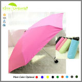 Aluminum &Metal Shaft and Ribs Tiny Style Umbrella with Flat Shape