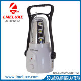 12 Refillable LED Emergency Light with Radio operator FM