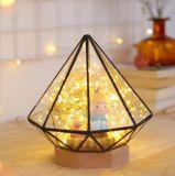 La decoración de Navidad de diamantes de LED Lámpara de mesa (KA-STXT)