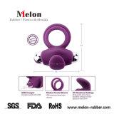 Anillo Viberate ultra suave para los hombres par el anillo de pene de silicona