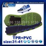 El último Outsole para los zapatos patinadores de la luz del rodillo LED