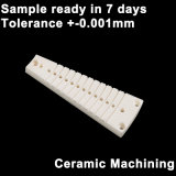 Le CNC d'alumine de haute précision en céramique