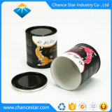 Zoll gedruckt ringsum das Papiergefäß, das für Blumen-Tee verpackt