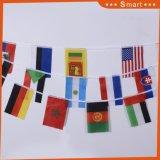 Chaîne personnalisée décoratifs pendaison Drapeau national du monde