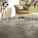 Preiswerter Preis-grauer Kleber-Blick-rustikale glasig-glänzende nicht Beleg-Porzellan-Fußboden-Fliese 60X60