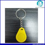 Alta calidad de 125kHz&13.56MHz llavero ABS RFID Tag para Hotel