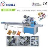 Automático esfregar o fluxo da almofada que envolve a máquina de embalagem
