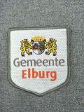 La promotion militaire personnalisé logo 3D'étiquette du vêtement Fashion tissu tissé broderie