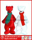 Jouet personnalisé neuf d'ours de nounours avec l'écharpe