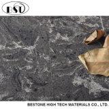 깊은 회색 아름다운 시리즈 인공적인 석영 돌 싱크대