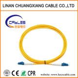 Cordon de raccordement de fibre optique LC-LC mode simple