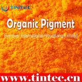 Amarillo 128 del pigmento para el recubrimiento plástico