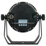 Exterior IP65 9X18W RGBWA UV 6 en 1 LED de batería inalámbrico PAR