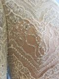Commerce de gros Fashion Design Long Trail musulman robe de mariée