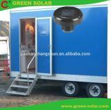 Toilettes Mobile solaire de la lumière avec détecteur de mouvement